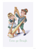 St. Patrick's Day Children Posters