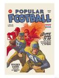 Popular Football Premium Giclee Print