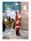 Santa Impersonator's Car Needs Repairs Prints