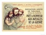 Pret d'Honneur aux Aveugles de la Guerre, c.1917 Poster by Théophile Alexandre Steinlen
