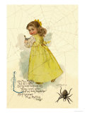 Little Miss Muffett Prints by Maud Humphrey