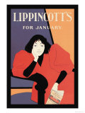 Lippincott's, January 1895 Posters by Will Carqueville