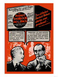 Triumph of Sherlock Holmes Plakater
