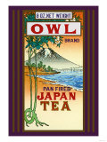 Owl Brand Tea Kunstdruck