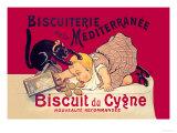 Biscuiterie de la Mediterranee Poster by Eugene Oge