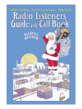Giant Santa with Radio Components Print