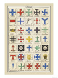 Crosses Print by Hugh Clark