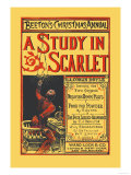 Beeton's Christmas Annual- A Study in Scarlet Plakater