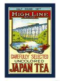 High Line Brand Tea Prints