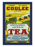 Coulee Brand Tea Print
