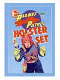 Plantet Patrol Holster Set Print