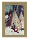 Good Teepee Keeping Print by Agnus Macdonall