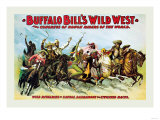 Buffalo Bill: Wild Rivalries of Savage, Barbarous and Civilized Races Prints
