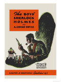 Boys' Sherlock Holmes Art by Charles Livingston Bull