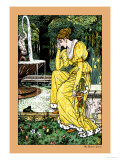 The Frog Prince, In Yellow, c.1900 Print by Walter Crane