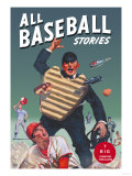 All Baseball Stories: Seven Big Diamond Thrillers Print