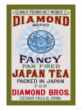 Diamond Brand Tea Prints