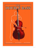 The Double Bass Premium Giclee Print