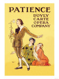 Patience: D'Oyly Carte Opera Company Posters