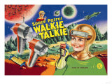 Space Patrol Walkie Talkie Prints