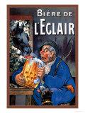 Biere De L'eclair Posters af Eugene Oge