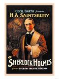 H. A. Saintsbury as Sherlock Holmes Prints