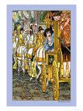 The Frog Prince, Procession, c.1900 Prints by Walter Crane