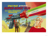 Space Pilot Super-Sonic Gun Prints