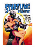 Startling Stories: Robot Seizes Woman Prints