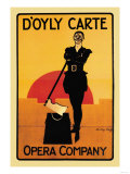 The Executioner: D'Oyly Carte Opera Company Poster