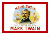 Mark Twain Cigars Print
