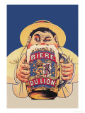 Biere du Lion Prints by Eugene Oge