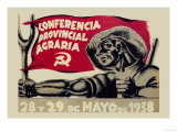 Agrarian Conference Print by  Puyol