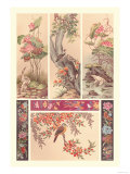 Chinese Bird Panels Posters by Racinet