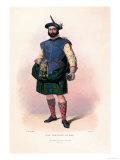 Clan Donchadh of Mar Print by R.r. Mcian