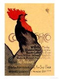 Cocorico, c.1899 Prints by Th&#233;ophile Alexandre Steinlen