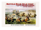 Buffalo Bill: On the Stagecoach Posters