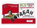 Calling All Schoolchildren Pioneers, Soviet Boy Scouts Posters