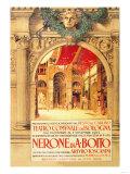 The Bologna Theater Presents Nerone di a Boito Prints