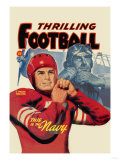 Thrilling Football Print