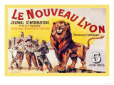 Le Nouveau Lyon Posters by Eugene Oge