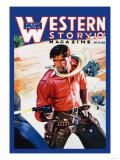 Western Story Magazine: Western Business Plakater