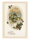 Hearty Christmas Greetings Prints