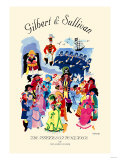 Gilbert & Sullivan: The Pirates of Penzance, or The Slave of Duty Print