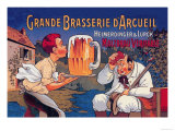 Grande Brasserie d'Arcueil Posters by Eugene Oge