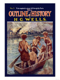 Outline of History by H.G. Wells, No. 3: Tragedy Print