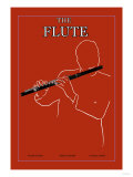 The Flute Posters