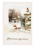 Christmas Robins Prints