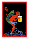 Biere au Diable Prints by Eugene Oge