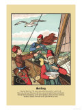 Sailing, c.1873 Prints by J.e. Rogers